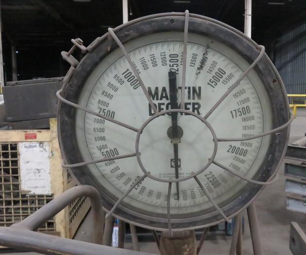 MARTIN DECKER CRANE SCALE
