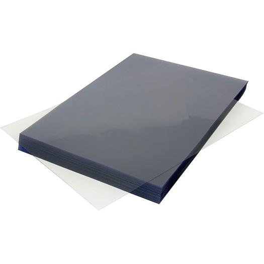 Clear PVC A4  Protective Binding Covers 240Micron (Pack of 100)