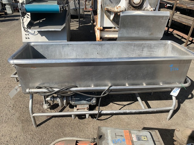 """COP Stainless Steel Tank 20""""wide x 72"""" long"""