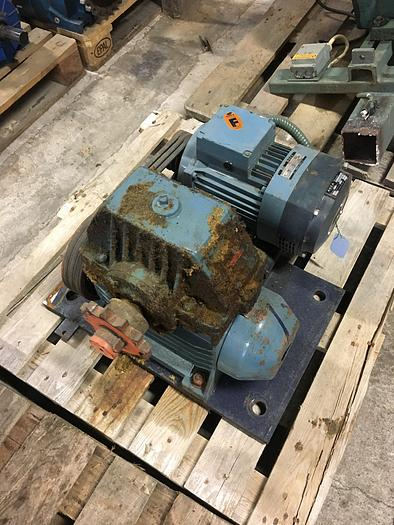 Used 2,2 kW, ASEA, Electric motor with reducer
