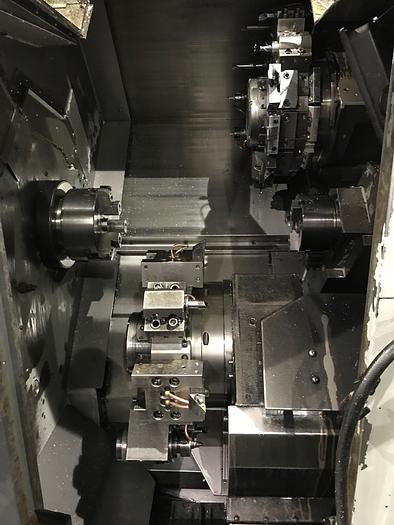 2002 Mori Seiki ZL-203SMC with Gantry loader