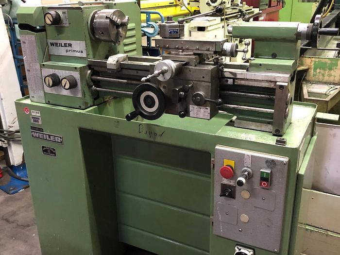 Leit- & Zugspindeldrehmaschine WEILER PRIMUS LZ/G