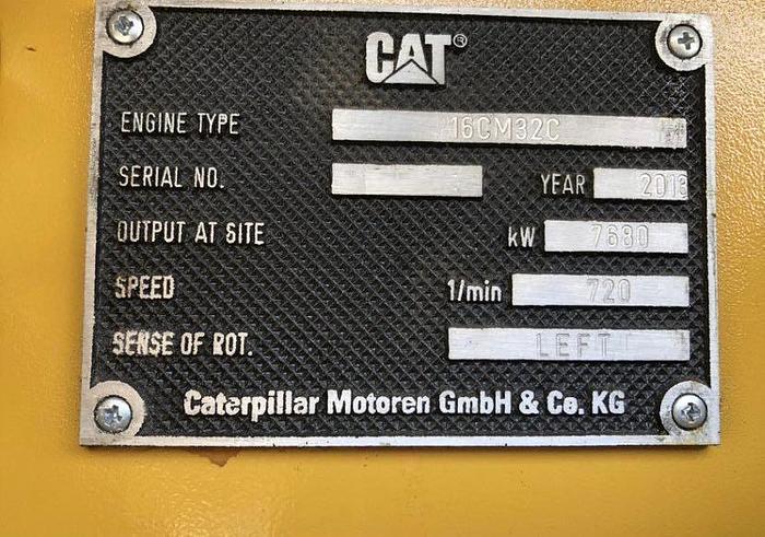 Caterpillar 16CM32C Brand New 6 generators