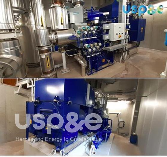 Used 5 MW 2010 Used Siemens SST-110 TWIN AFA 46 K Natural Gas Turbine