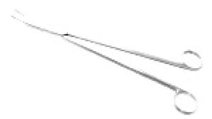 Scissor Thoracic Nelson Curved 280mm (11in)