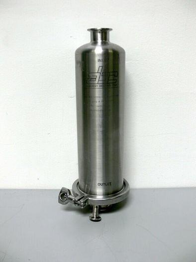 Used Allegheny Bradford Corp 1815-FLI-002B Stainless Steel Filter Housing