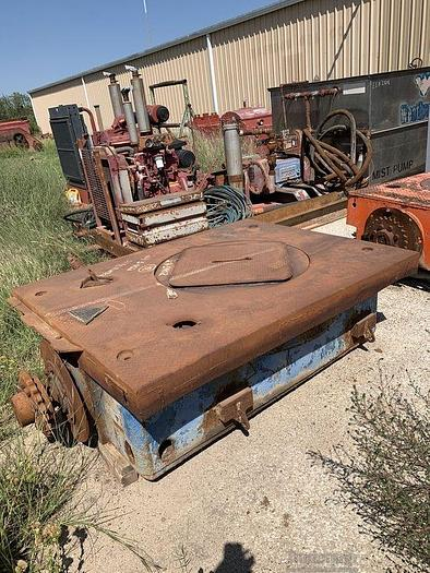 Used CONTINENTAL EMSCO Rotary Tables