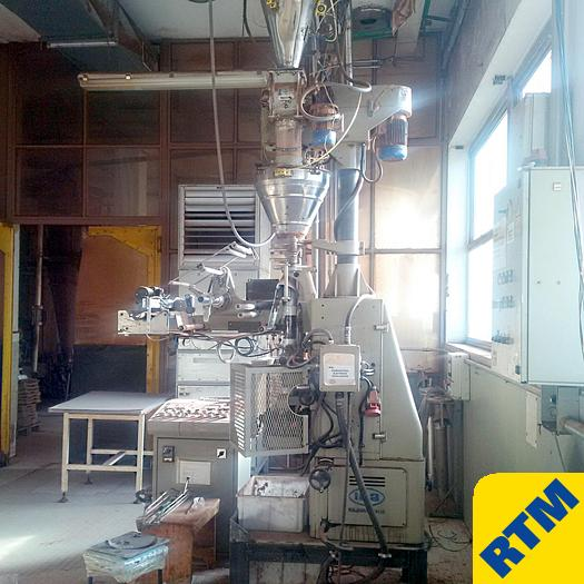 Used Vertical Bagging Machine with Powder Feeder