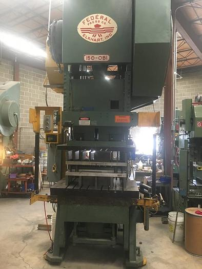 150 Ton Federal Punch Press