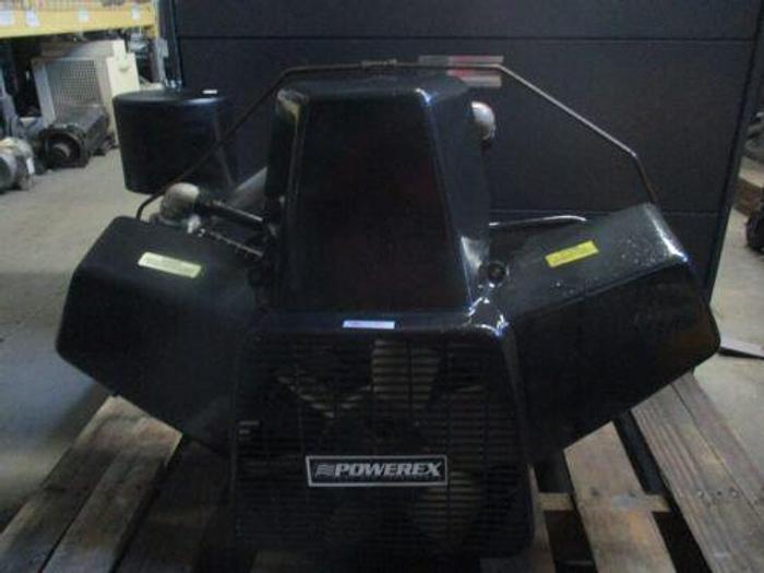 Used POWEREX DK6084? OILLESS AIR COMPRESSOR PUMP_LOOKS NICE_AS-SEEN BELOW_GREAT VALUE