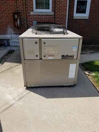 Used MCQUAY 25 TON HVAC WATER CHILLER AGC UNIT