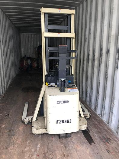 Crown Forklifts 20 MT and 35SCTT
