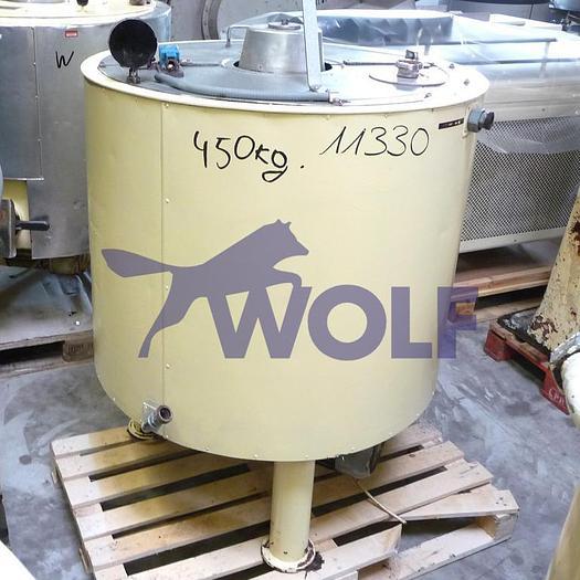 Gebraucht Rührwerksbehälter PLOBERGER/WIENca. 300 Liter Nutzinhalt mit Antrieb von unten.