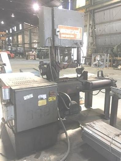"""18"""" X 25"""" Marvel 81A Vertical Band Saw, 1980"""