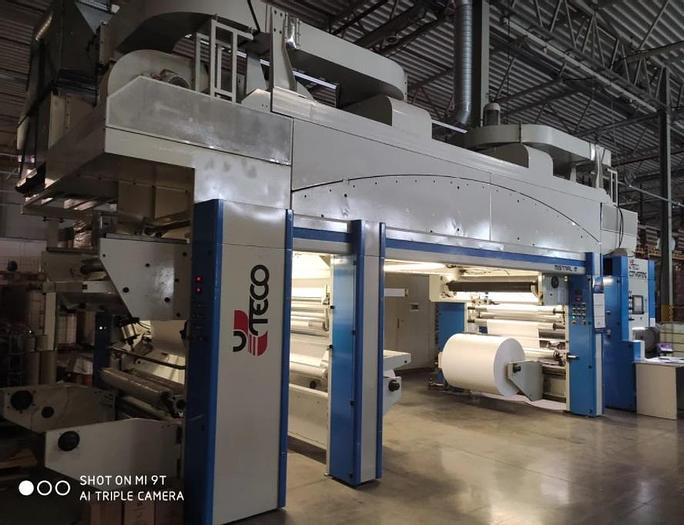 Used 2007 UTECO MISTRAL M – 1300  DUPLEX SOLVENT AND WATER BASE LAMINATOR