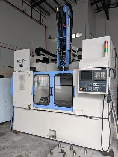 Used Used OKADA GMC1088 Graphite Vertical Machine Center