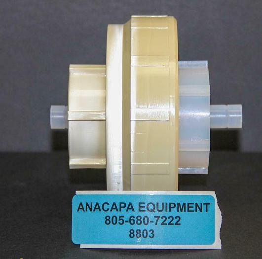 Used Savillex 401-44-90-40-44-2 90 mm Single Stage Filter Assembly Ultem Clamp (8803)