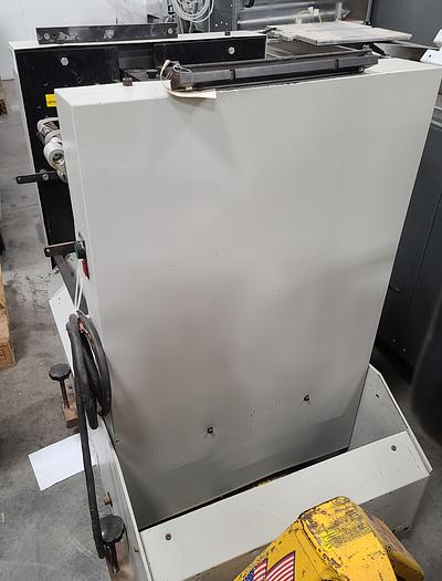 Used Feinmore 258 Auto Punch In Line with Bookletmakers/Folders