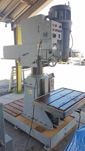 Used Johansson Radial Arm Drill