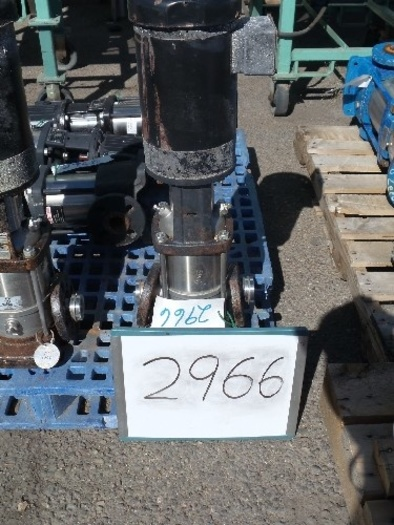 Grundfos 1 1/2'' In Line Pump #2966