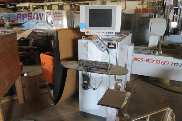Used Holzher Pro Master XL 7123 CNC Router