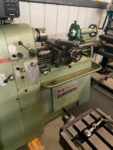 Harrison 10AA Varible Speed Precision Lathe 10AA