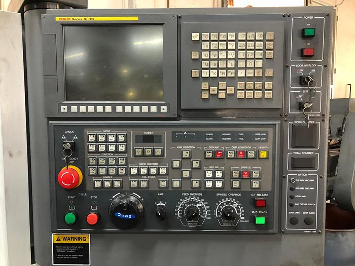 Samsung SL-25B/500 CNC Turning Center
