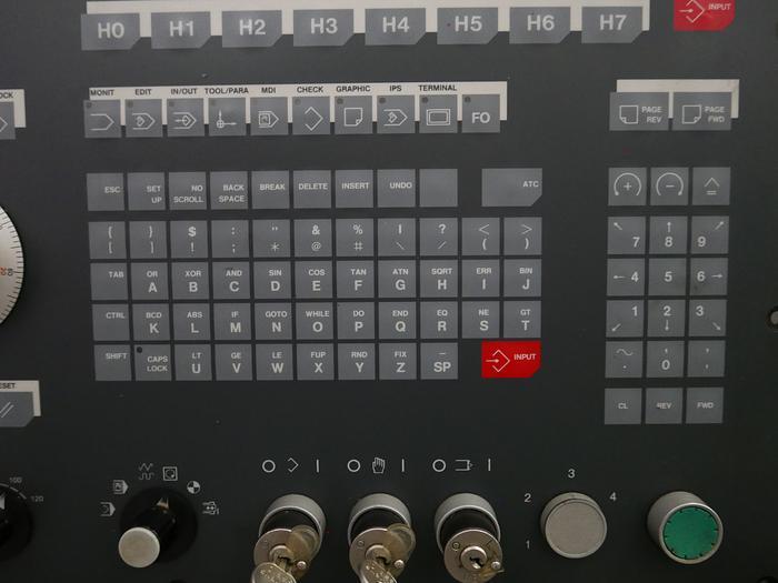 Mitsubishi Bedientafel mit Tastatur