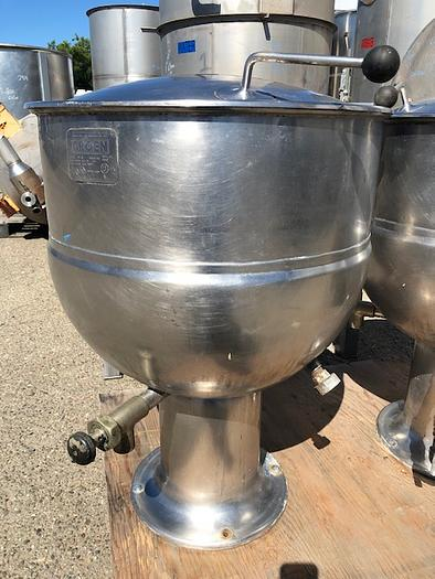 Used Groen 40 Gallon Jacketed Mix Kettle