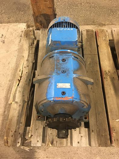 Used ASEA electric motor with reducer 11,5-8,5 kW 1460-965 rpm