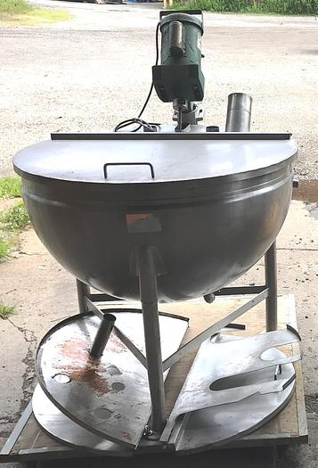 100 Gallon Capacity Groen Steam Jacketed Kettle