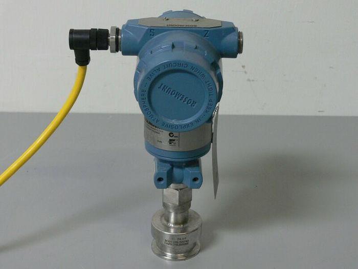 Used Rosemount Pressure Transmitter 3051 TG2F2B21AS10804