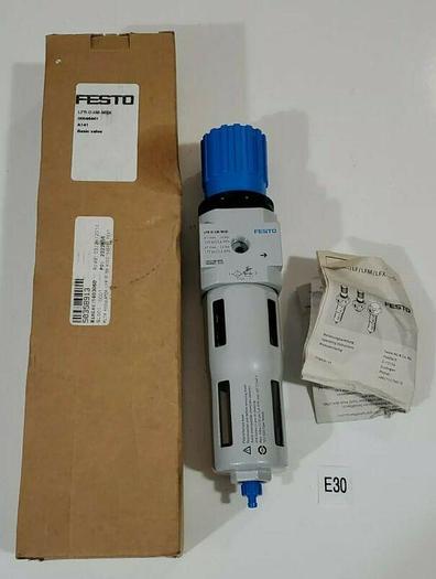 """*NEW IN BOX* FESTO LFR-D-5M-MIDI Regulator Filter Assembly 3/8"""" NPT + Warranty!"""