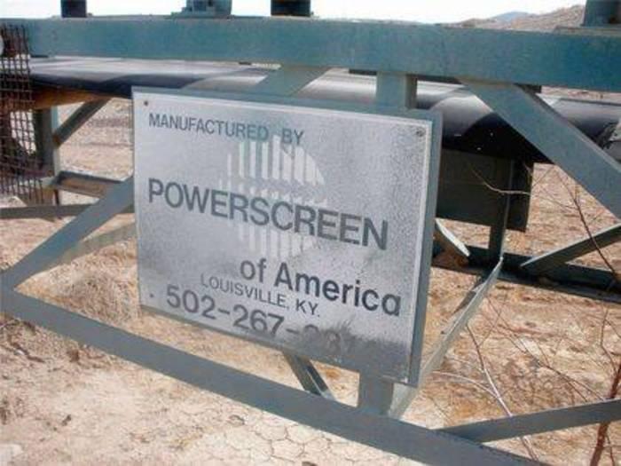 """1994 Powerscreen 30"""" x 82'"""