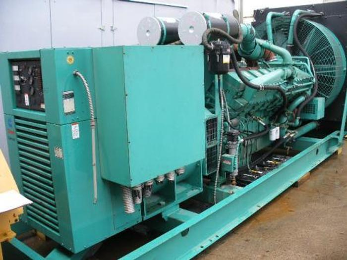 1.25 MW 1998 Cummins KTA50G3 Diesel Generator