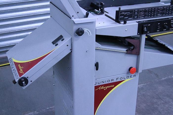 Used Morgana Junior Folder with Perforation Unit (#1025)