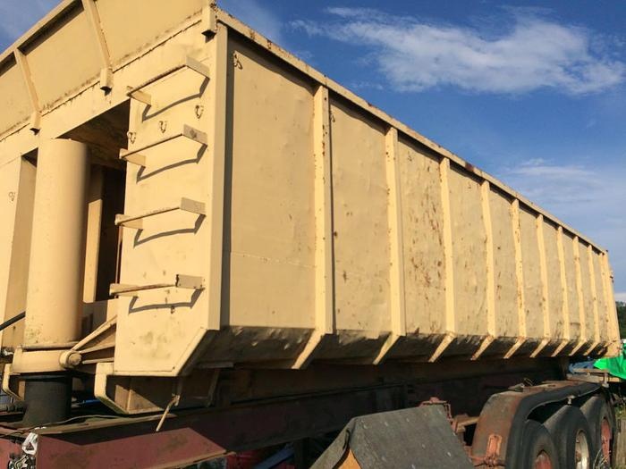 1990 HANGLER typer trailer full steel typer with full steel suspension