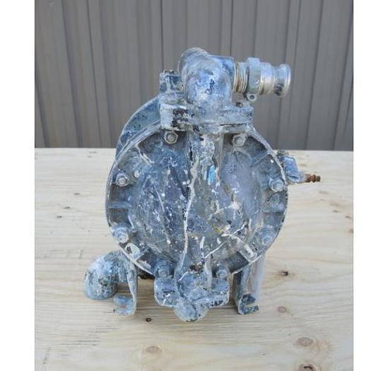 "USED DIAPHRAGM PUMP, 1"" X 1"" INLET & OUTLET, ALUMINUM"