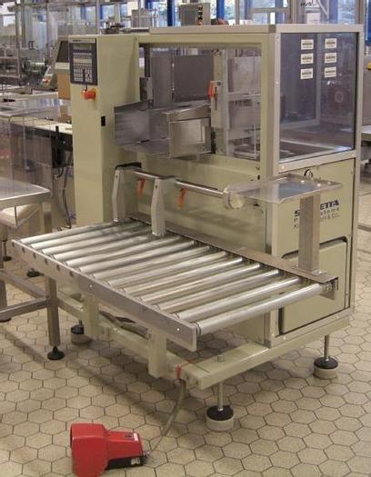 Used O 12969 D - Casepacker KIENER SKINETTA CP 141