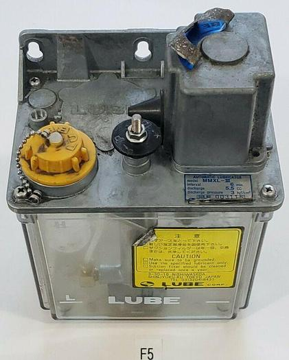 Used *PREOWNED* Lube MMXL-III Automatic Oil Lube Lubrication Pump Oiler 5.5CC 100A