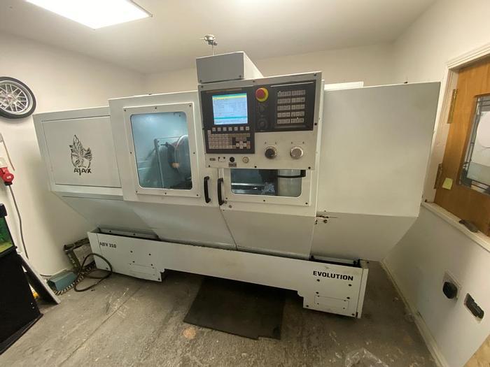 Used 2014 Ajax Evolution Ajev 310 CNC Lathe
