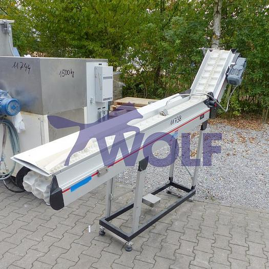 Gebraucht Steigförderband MTF TECHNIK NL-CD120