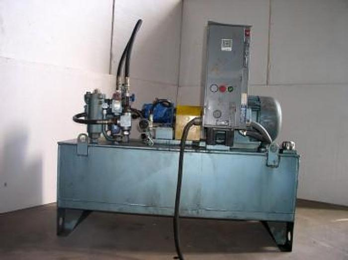 Used 15 HP Melvin Tank Mounted Hydraulic Unit
