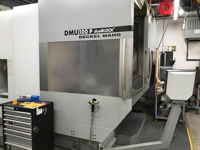 Used 2008 DMG DMU 100 MonoBlock