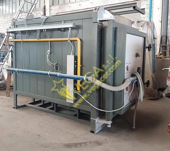 Used Gas turbo kiln FICOLA for High Temperature