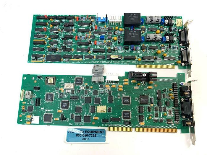 Used Nicolet 000-457703 050-457703 & 000-434308 050-434308 Discovery ISA Cards (8837)