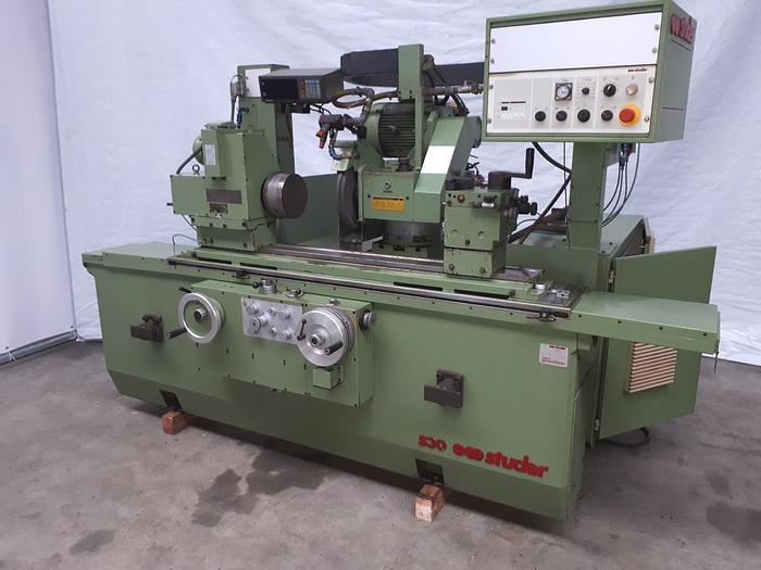 Gebraucht 1990 Studer S30-1 manuelle  Rundschleifmaschine mit Innenschleifeinrichtung