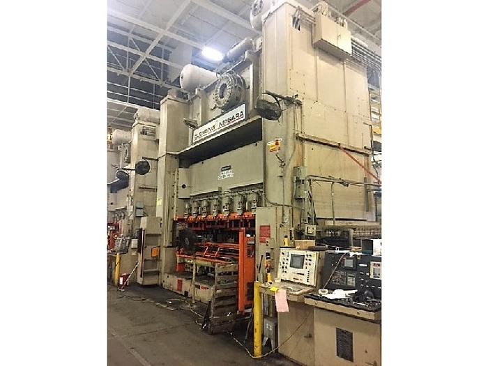 "880 ton Niagara 192""x60"" Stamping Press"