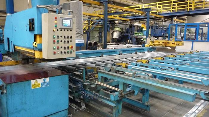 """Used 1500 mton x 6-7"""" Farrel Aluminum Extrusion Line: EX-497"""