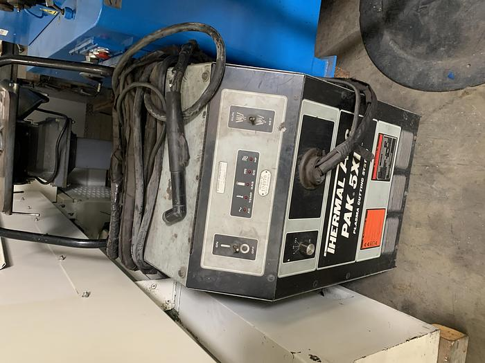 Used Thermal Ark Pak 5XR plasma cutter
